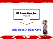 Why Does A Baby Cry? (DL)
