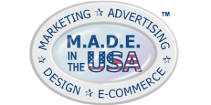 M.A.D.E. in the USA logo