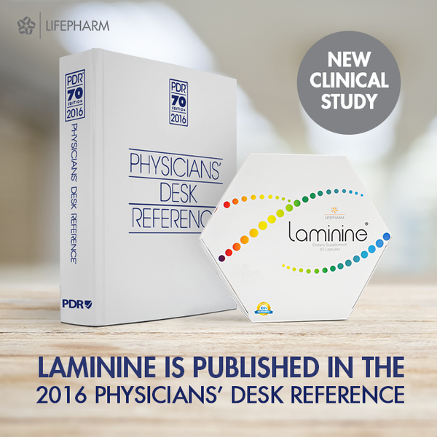 Laminine is in the 2016 PDR