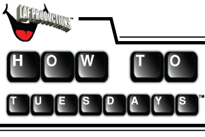 HOW TO TUESDAYS logo